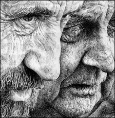 DRAWINGS on Behance #illustration #pencil #drawing