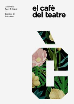 Cafe Theatre Identity – By Quim Marin Studio
