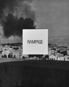 logo design RAMPAGE #square