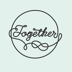 together Lettering Collection on Behance by Sergi Delgado #modular #lettering #delgado #design #graphic #together #geometric #poster #custom #type #sergi #typography