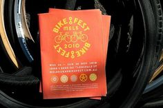 Melbourne BikeFest | SouthSouthWest #bicycle #branding #publication #identity #bike