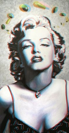 CLASSIC HOLLYWOO3D PAINTINGS on the Behance Network #painting #art