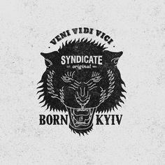 veni vidi vici #sndct #orka #illustration #original #syndicate #abo #typography