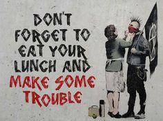 You are not Banksy – Fubiz™ #nick #banksy #photograph #stern