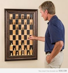 9GAG - Vertical Chess Set #schaakset