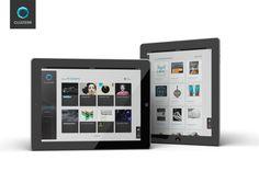 Clusterr iPad App (reissue 2012 on the Behance Network