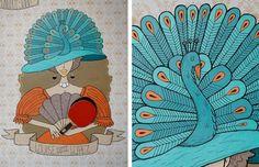Ping Pong Legends Mural | Jolby & Friends