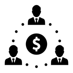 See more icon inspiration related to boss, group, team, coin, money, manager, business, people, hierarchical structure, dollar symbol and networking on Flaticon.