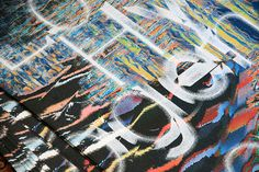 Love&Hydrogen—Zeppelinoper #knoops #silkscreen #glitch #poster #type
