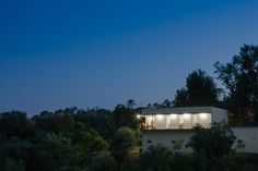 Unexpected Symbiosis: House on a Warehouse in Portugal #architecture