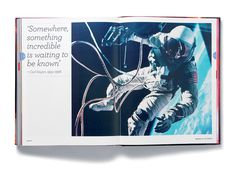 Wonders of the Universe #infographics #print #design #graphic #book #space #astronaut #layout #editorial