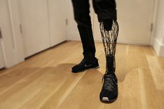 3-d printed leg #run #print #iron #leg #prosthetic #3-d #3d