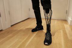 3-d printed leg #run #print #iron #leg #prosthetic #3-d #3d