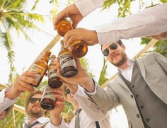 It's best to begin planning a bachelor party weeks before the party just to be sure you get everything right. Most bachelor parties involve booze, strippers, and gambling, depending on the preference of the party guests. And, if find that you are short on games, you can lend a few from the last engagement party.
