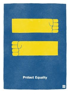 From The Mind of Christopher David Ryan » Blog Archive » Manifest Equality #print #cdryan #illustration