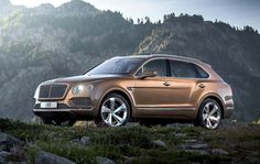 Bentley has officially revealed the all-new #Bentayga