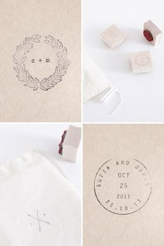 follow studio custom stamps. #logo #stamp #production