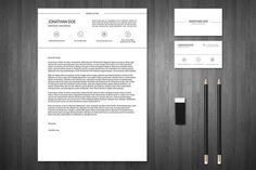 Free Minimal Resume and Business Card Template