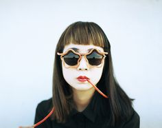sunglasses, portrait, photo