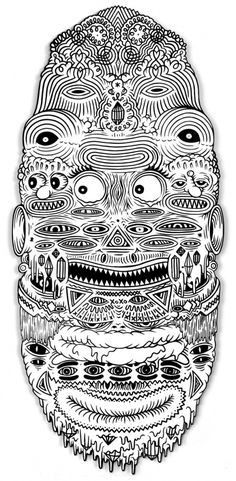 Freegums #design #illustration #drawing #face #blackwhite #freegums