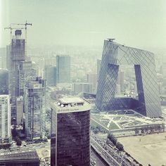 CJWHO ™ (CCTV Headquarters, Beijing, China by Rem...) #landscape #photography #architecture #china #cctv #beijing