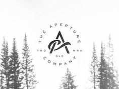 """The Aperture Co"" Monogram Process #logo"