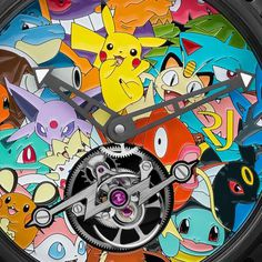 Unique piece: Romain Jerome Tourbillon Pokémon #romainjerome #pokemon #pikachu #tourbillion #unique #craftmanship #luxuryes