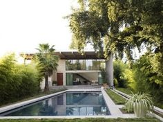 WANKEN - The Blog of Shelby White » Modern St. Helena Home in California #modernism #pool #architecture