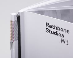 Rathbone Studios binding #book #editorial #binding