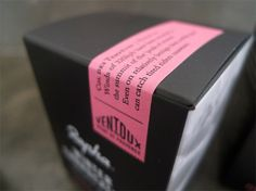 Rapha Performance Skincare | Irving & Co #packaging