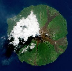 Volcanos apollo12 #ocean #island #volcano