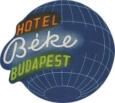 Hotel Béke, Budapest (105mm x 117mm) | Flickr - Photo Sharing! #type