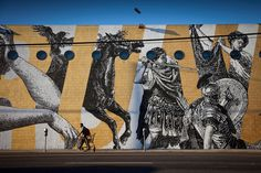 woodkid and cyrcle collaborate on los angeles mural 02 #mural