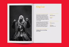 Wigan Little Theatre by Alphabet #print #graphic design #magazine