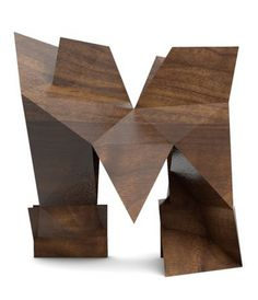 Lancia TrendVisions - Trend Wall #type #sculpture #wood
