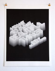 CUSTOM LETTERS, BEST OF 2011, DAY TWO — LetterCult #type #poster