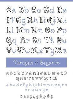 Novo Typo - Gagarin Taniyah - Type specimen #novo #design #typeface #typo #typography