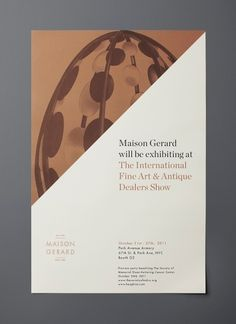 Mother New York » Maison Gerard #design #poster #layout #mother new york