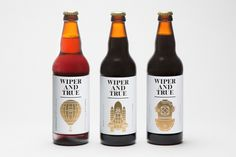 Wiper and True #beer #wiper #packaging #and #true