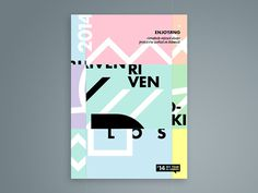 '14 My Year In Words // Posters on Behance #poster #posters #studio #2014 #review #swiss #type #brand #collage #clean #art #digital