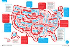 Serge Seidlitz — America, so cool! #map