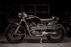 Honda CL350 cafe racer #racer #cafe #honda #cl350 #motorcycle
