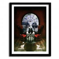 SKULL ROOM by ALI GULEC #print