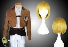 Shingeki no Kyojin Armin Arlert Cosplay Outfit #arlert #buy #armin #cosplay