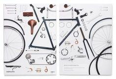 Work | VSA Partners #emboss #print #bike #paper #good