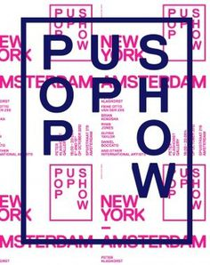 New York / Amsterdam — Pop Up Show #posters