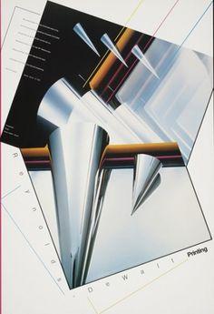 Skolos-Wedell Poster Portfolio #poster #90s
