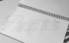 Café Amalia — Tom Clayton / Swear Words #typography