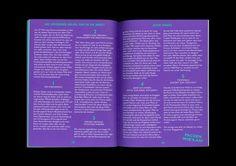 «Schampus Magazin No. 69» (2011) by Doeller & Satter (Sandra Doeller & Michael Satter) #sandra #from #designers #germany #doeller #typography