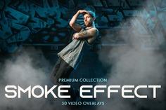 Smoke Effect Video Overlays